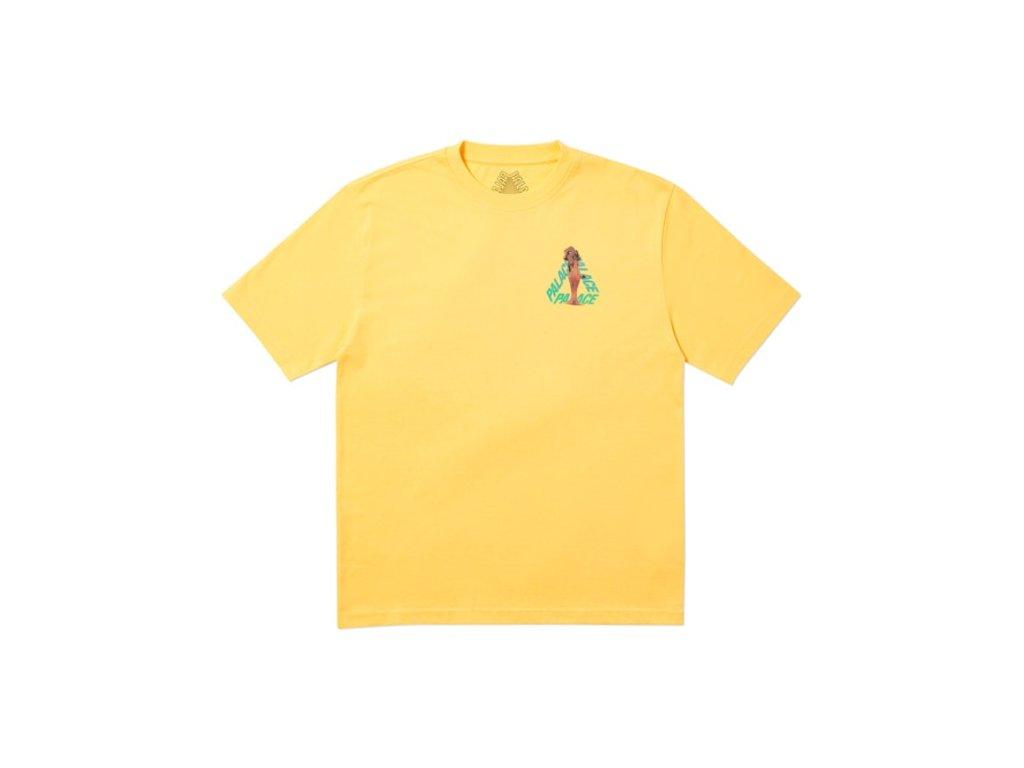 Palace Rolls P3 T Shirt Yellow