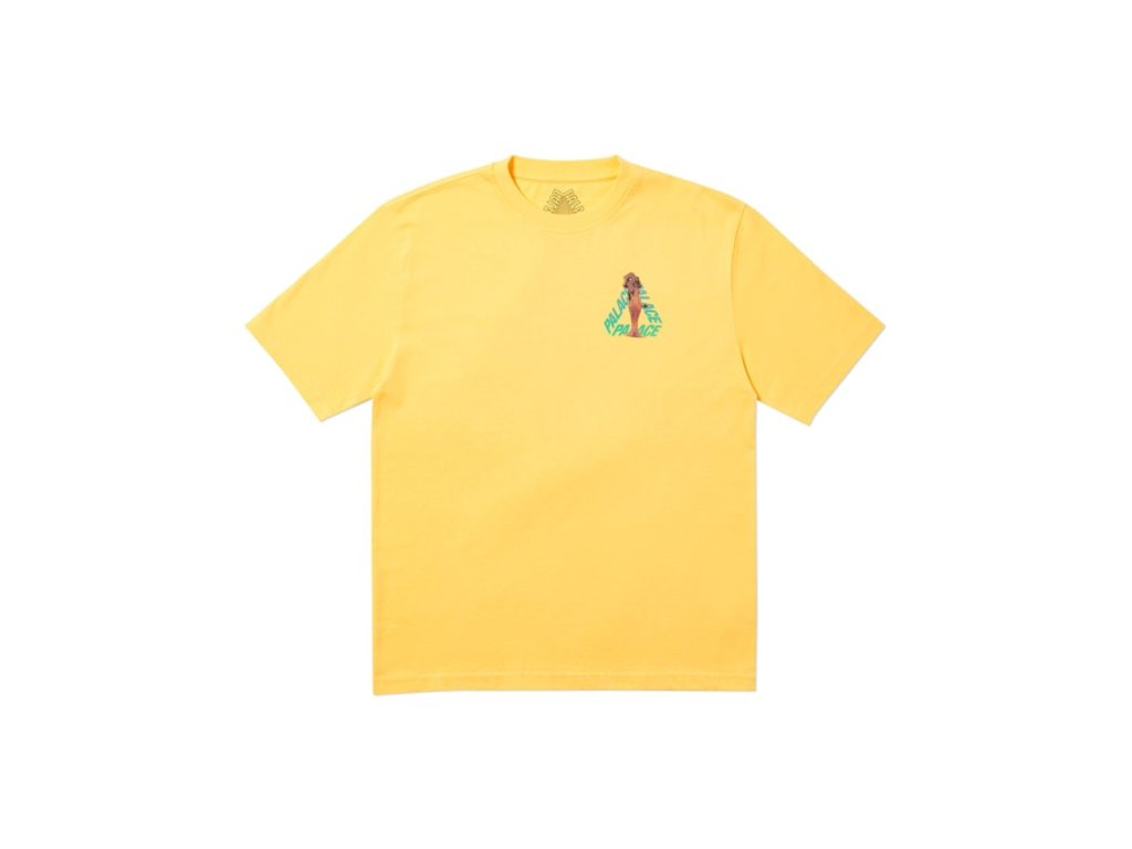 Palace Rolls P3 T Shirt Yellow