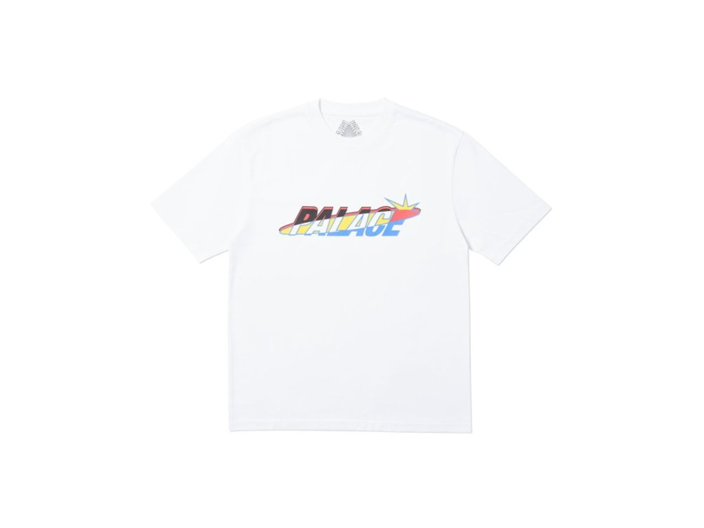 Palace Lique T Shirt White