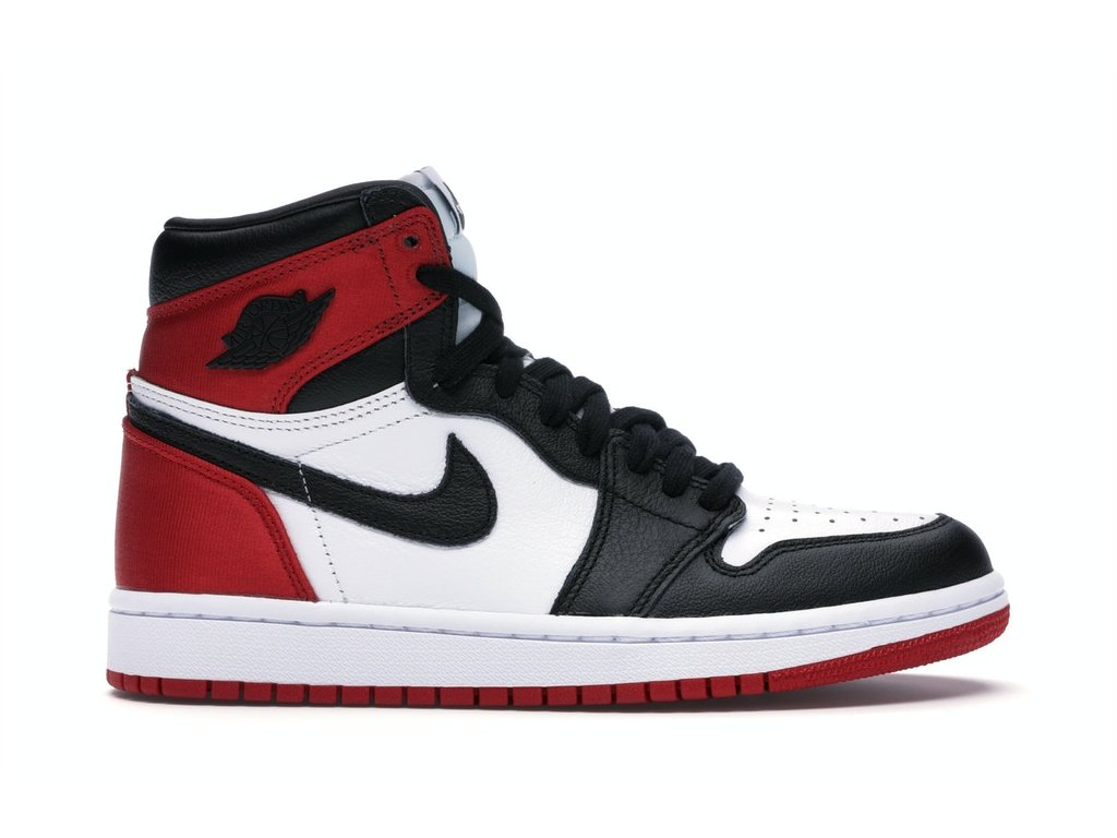 Air Jordan Retro 1 High Satin Black Toe (W)