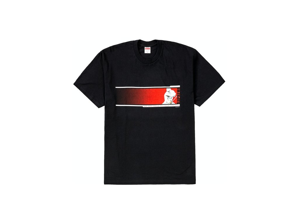 Supreme Were Back Tee Black