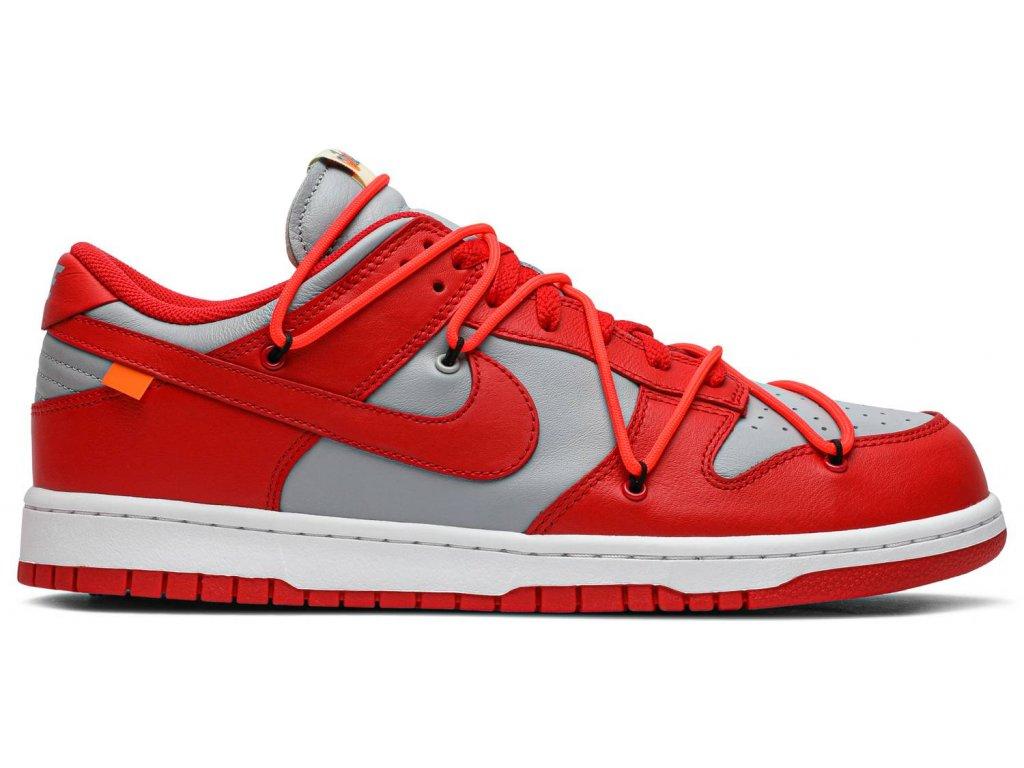 Nike SB Dunk Low Off-White University Red