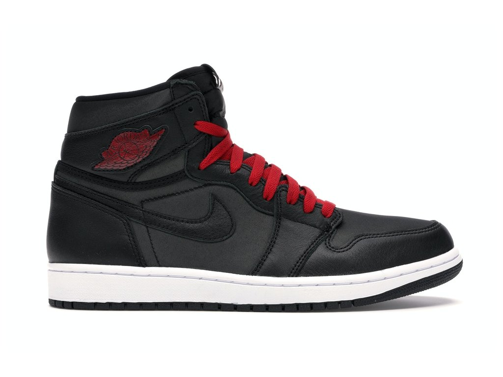 Air Jordan Retro 1 High Satin Black