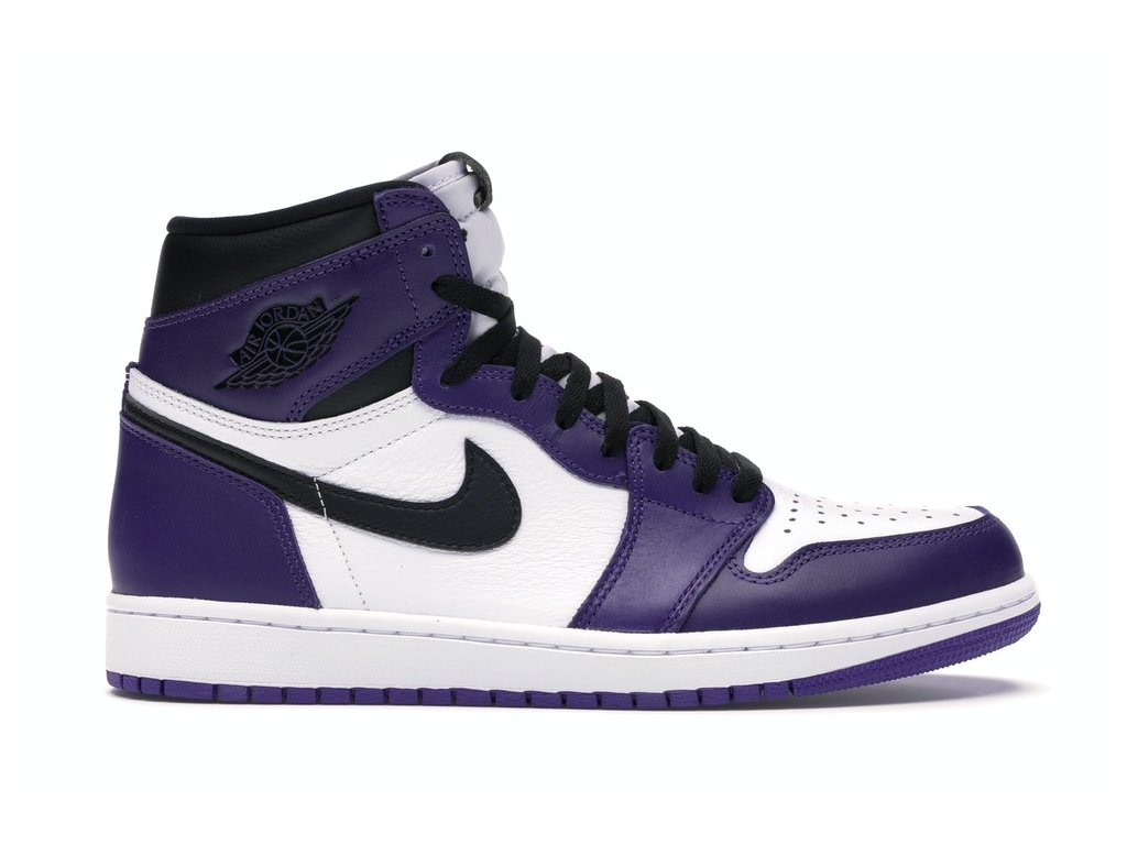 Air Jordan Retro 1 High Court Purple