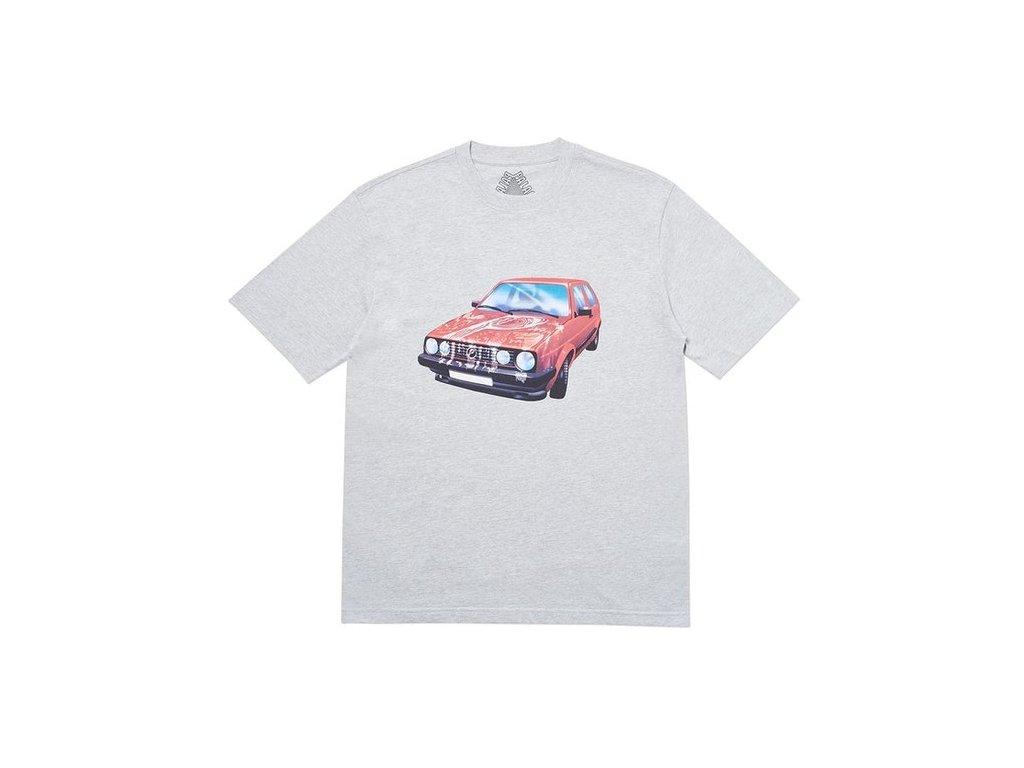 Palace GT Alight T Shirt Grey Marl