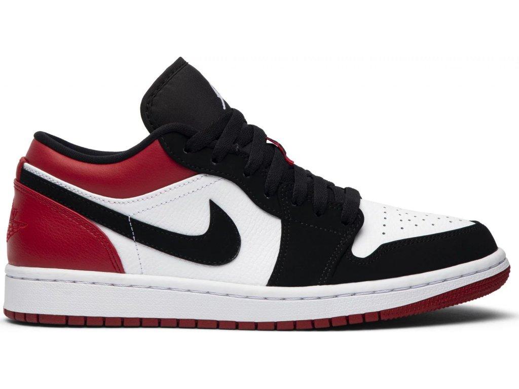 Jordan 1 Low Black Toe