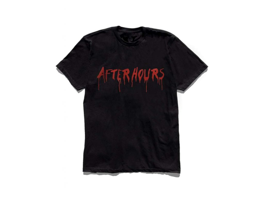 The Weeknd x Vlone After Hours Blood Drip Tee Black 2.png