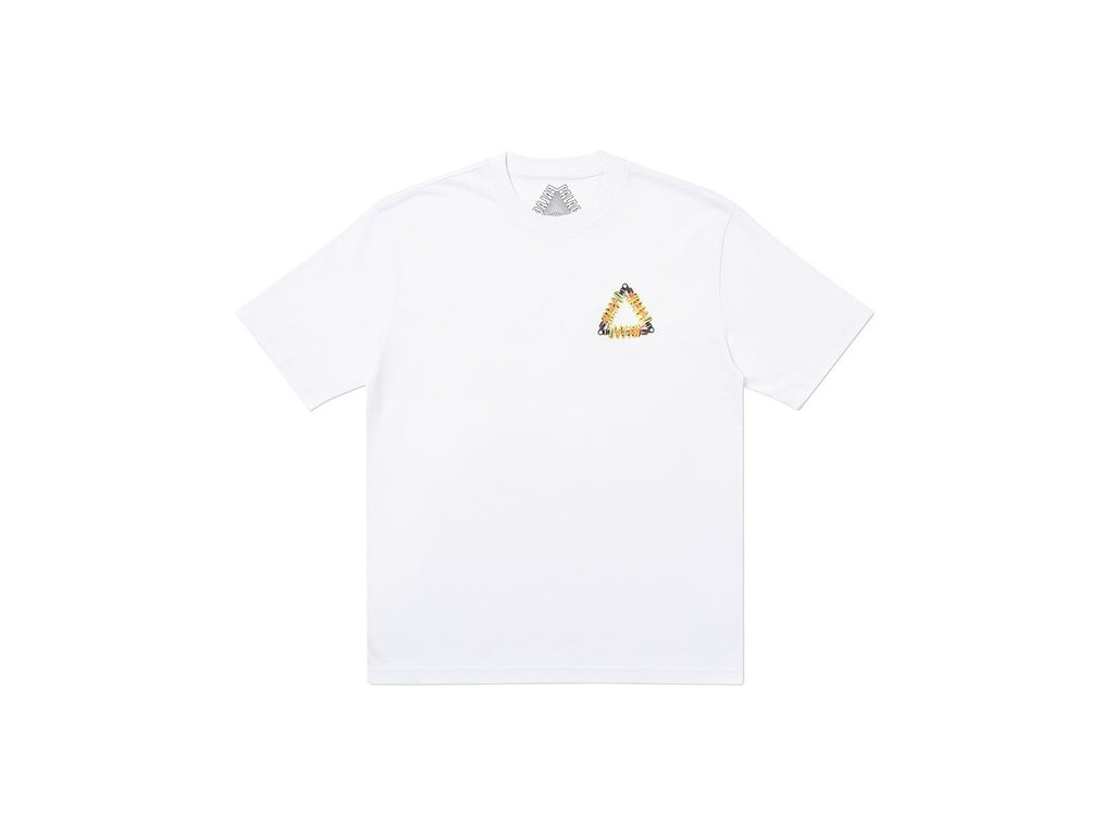 Palace Tri Pumping T Shirt White