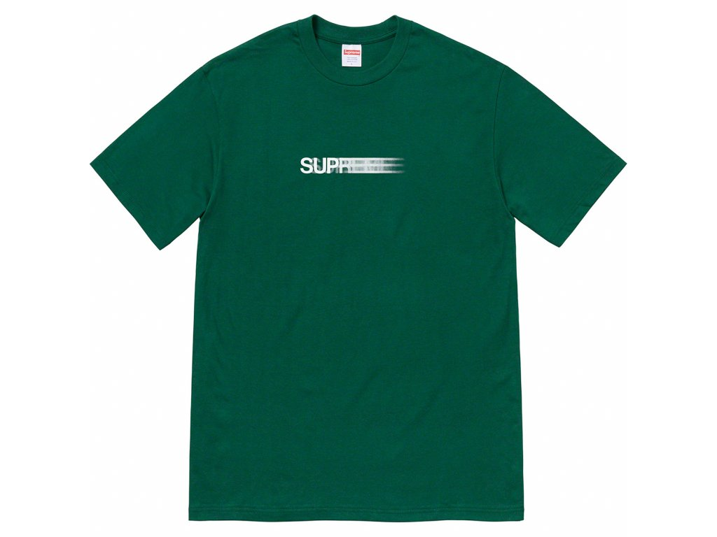 Supreme Motion Logo Tee SS20 Dark Green