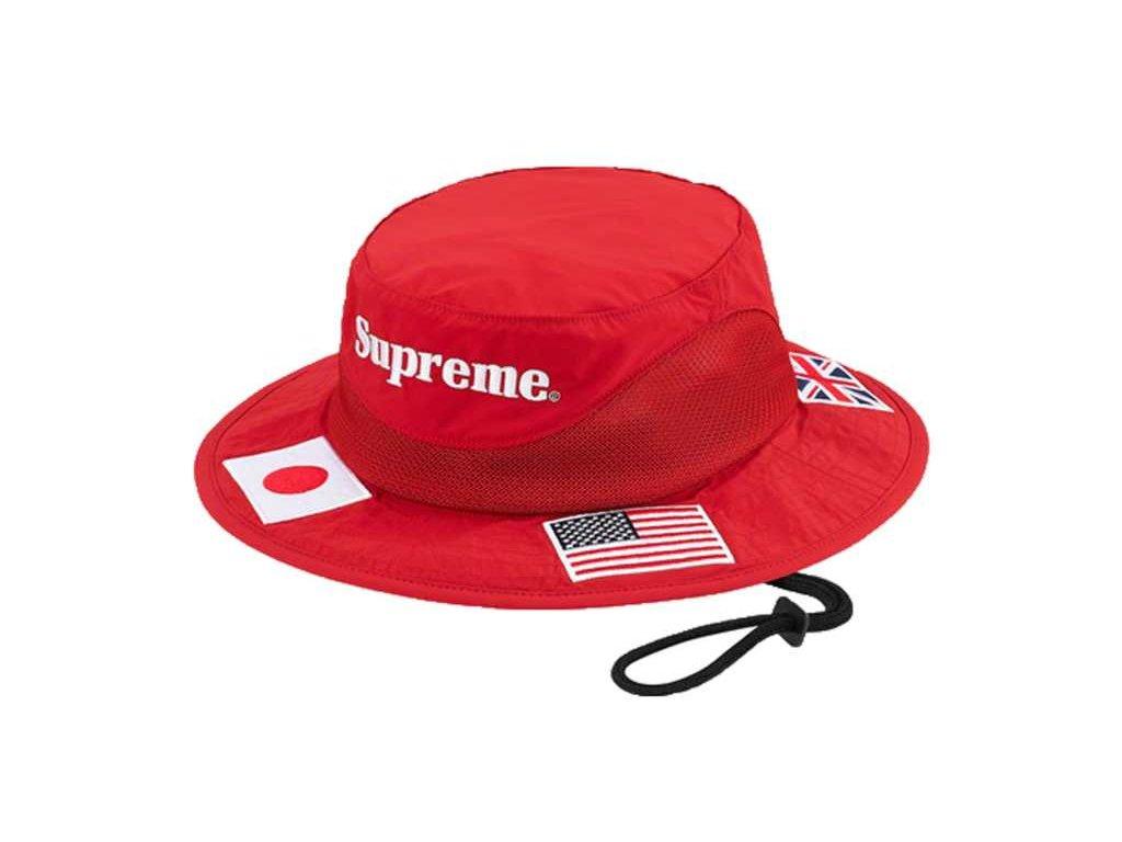 supreme klobouk red
