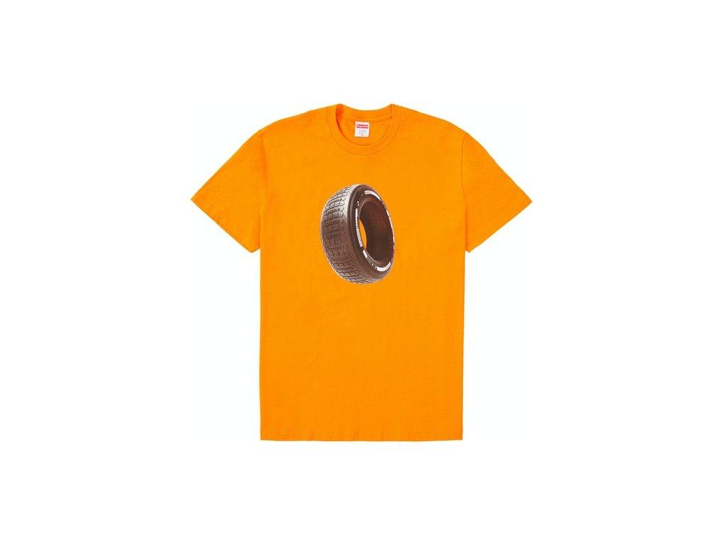 Supreme Tire Tee Orange