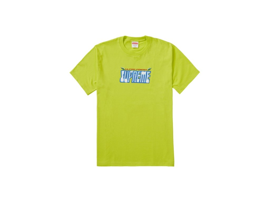 Supreme Ultra Fresh Tee Bright Green