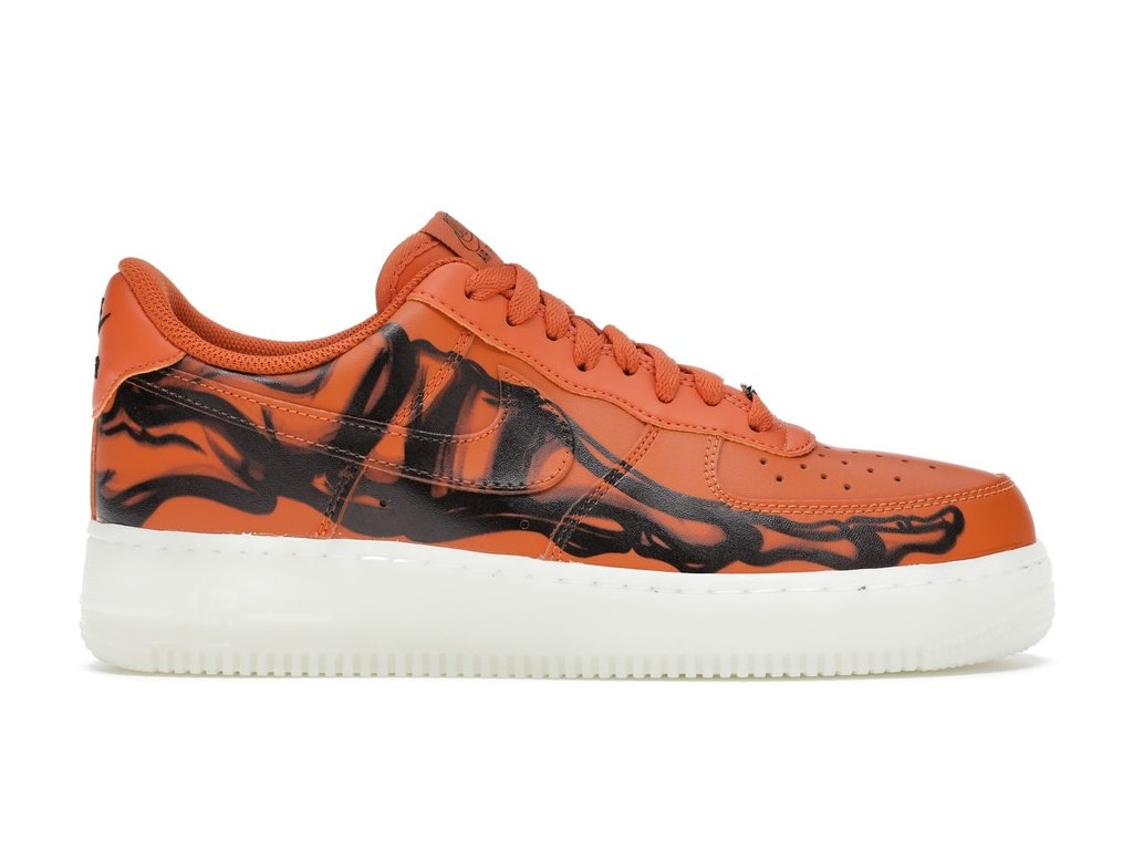 Air Force 1 Low Skeleton Orange