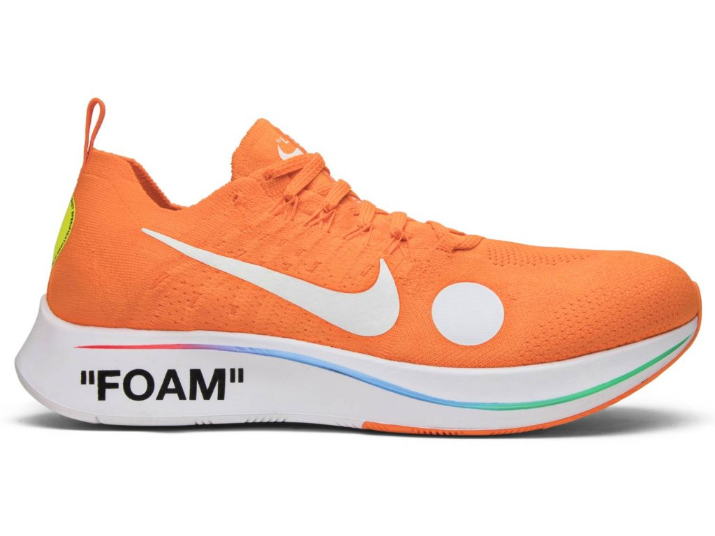 Zoom Fly Mercurial Off-White Total Orange