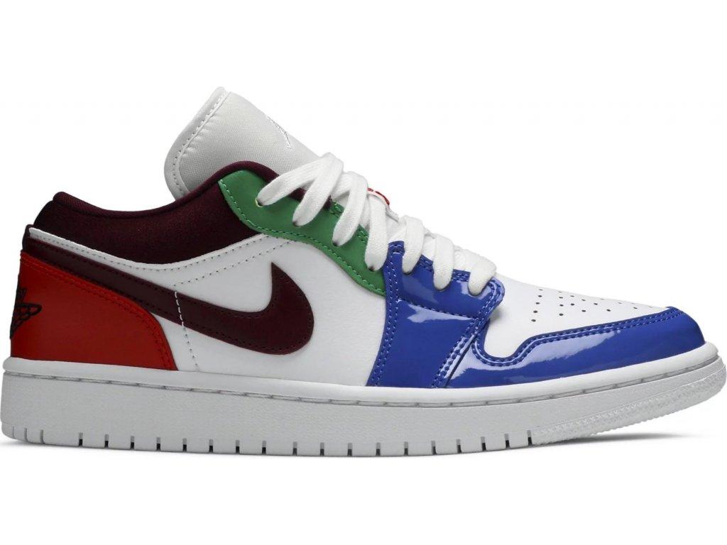 Jordan 1 Low Multi-Color (W)