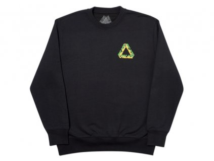 Palace Split P3 Crew Black