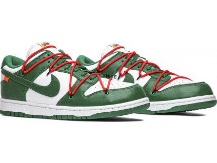 Nike SB Dunk Low Off-White Pine Green