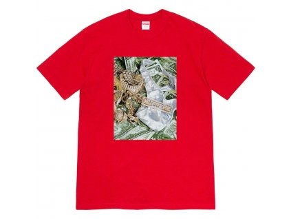 bling tee red