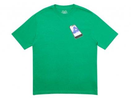 Palace Tri Phone T Shirt Green