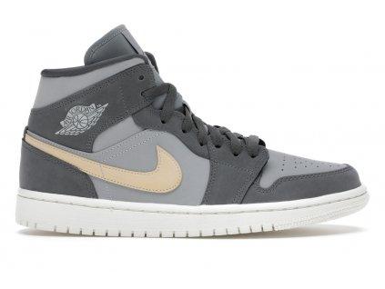 Jordan 1 Mid Grey Onyx (W)