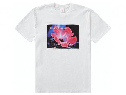 Supreme Yohji Yamamoto This Was Tomorrow Tee White